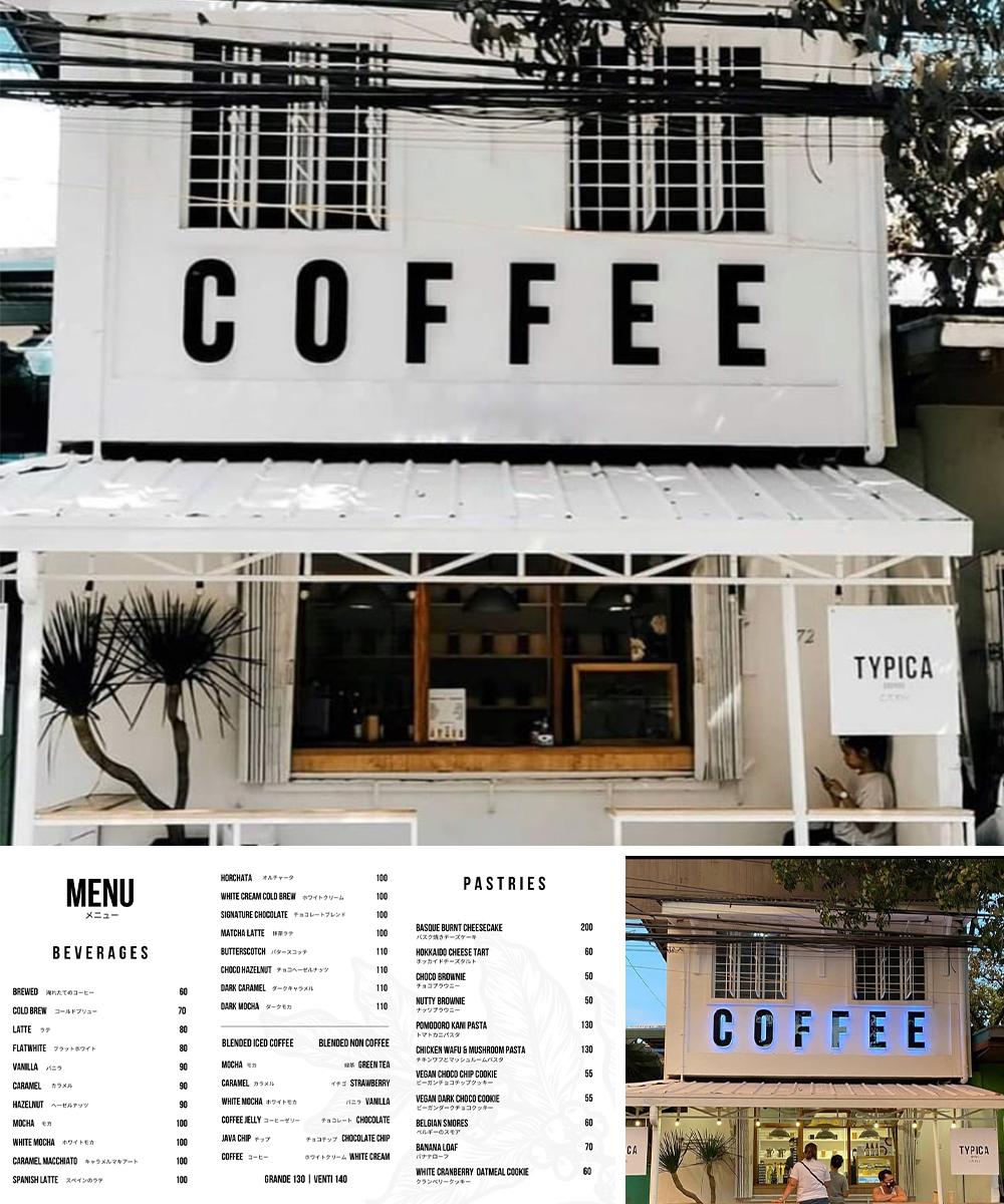 typica coffee shop