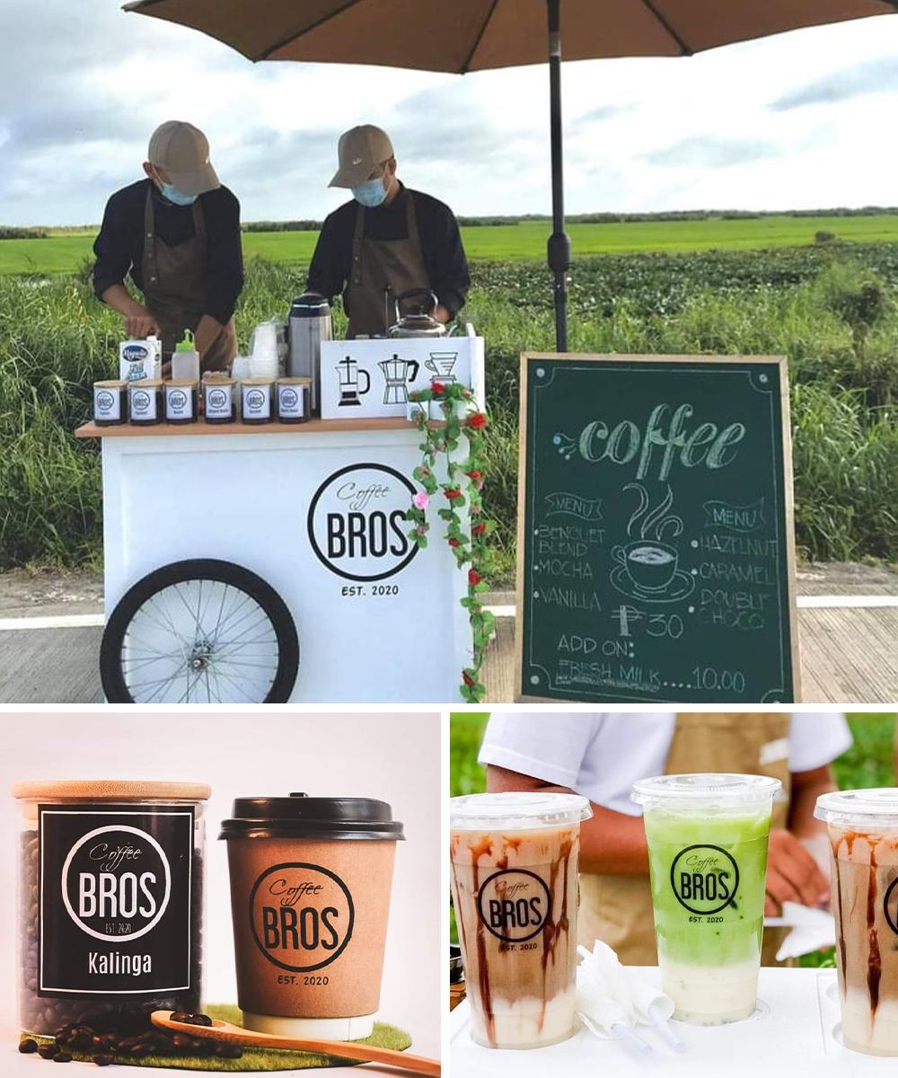coffee bros pop up shop
